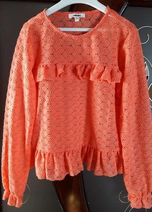 Стильна коралова блузка від koton