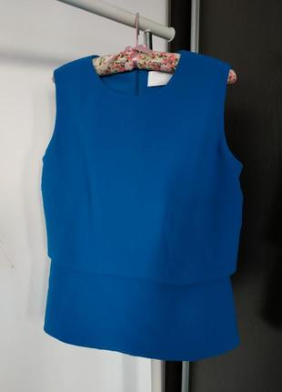 #розвантажуюсь фактурная блуза с оригинальной спинкой/блуза кейп от hugo boss