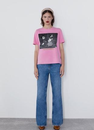 Новая футболка zara с микки дисней disney