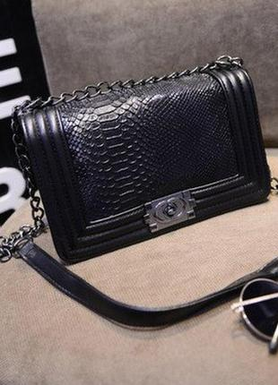Новая женская сумка - клатч chanel boy (шанель бой), цена - 500 грн ... 13d3d5632af