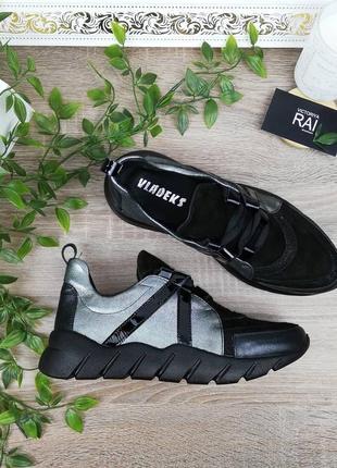 🌿39🌿натуральная кожа. стильные и комфортные кроссовки