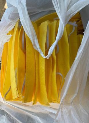 10 шт защитные маски одноразовые 4х слойные