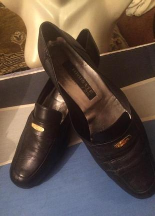 Стильные туфли,натуральная кожа ,от бренда brunate class,италия