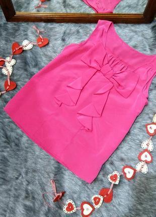 Блуза топ кофточка декорирована драпировкой new look