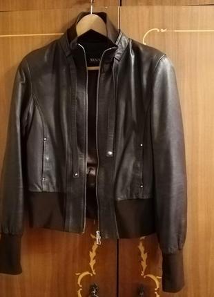 Кожаная куртка натуральная кожа