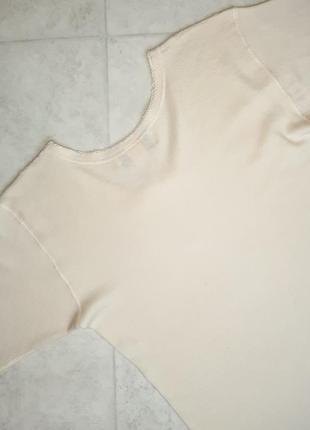 1+1=3 бежевый теплый шерстяной свитер 75% шерсть woolmark blend, размер 48 - 502 фото