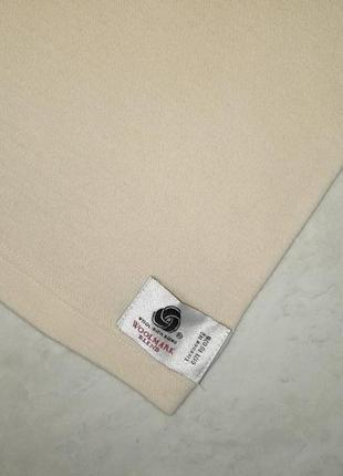 1+1=3 бежевый теплый шерстяной свитер 75% шерсть woolmark blend, размер 48 - 507 фото