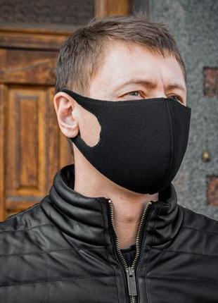 Защитная маска черная, маска пита