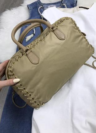 Крутезная сумка prada6 фото