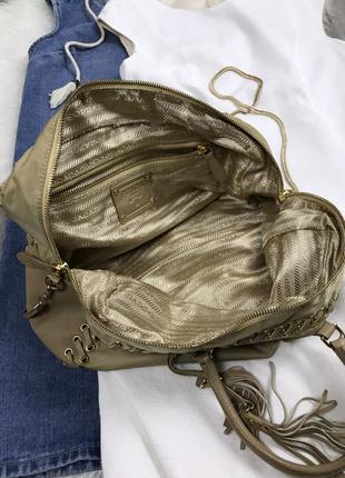 Крутезная сумка prada5 фото
