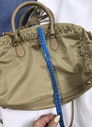 Крутезная сумка prada9 фото