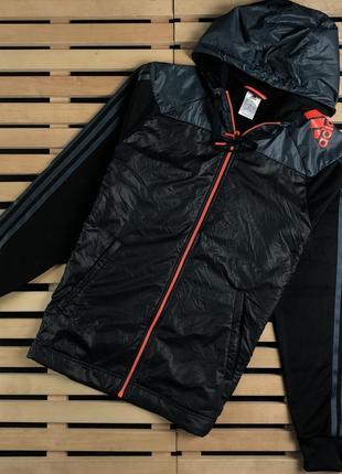 Супер крутая мужская кофта зип худи adidas размер м