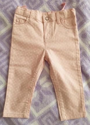 Шикарные джинсы для принцессы carter's 18m