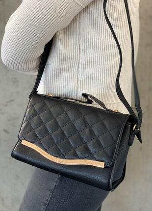 Стильные женские сумки черная