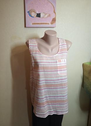 Блуза майка из тончайшего хлопка