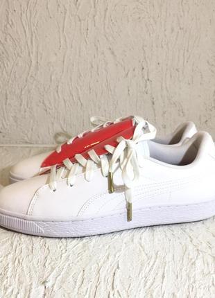 Кроссовки puma basket crush wns white (36955601)