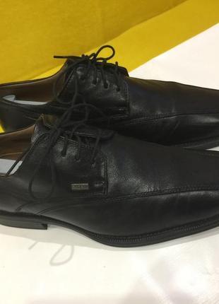 Туфли кожаные bugatti