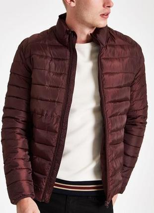Шикарный лёгкий пуховик charles voegele light jacket