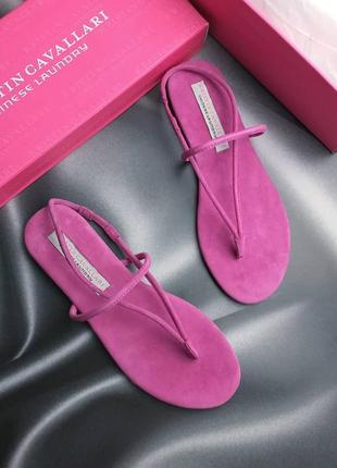Kristin cavallary оригинал полностью замшевые сандалии
