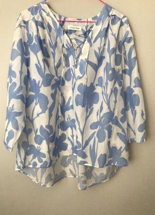 Блуза шёлк и коттон