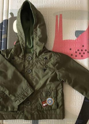 Ветровка, курточка, куртка на малыша возраст 6-9