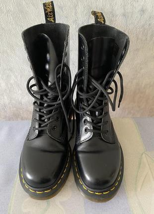 Оригінальні черевики dr martens натуральна шкіра