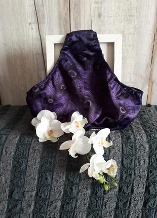 Трусы / трусики атлас фиолетовый
