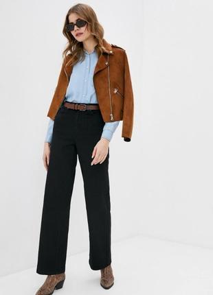 Прямые джины брюки широкие прямые палаццо