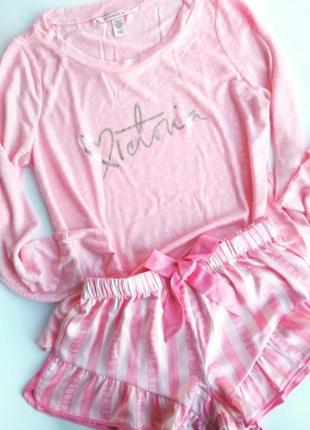 Пижама комплект для дома виктория сикрет victoria´s secret, оригинал