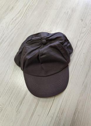 Базовая серая кепка