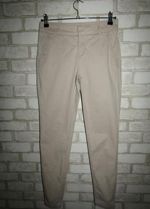 Натуральные брюки р-р 34-36 бренд h&m