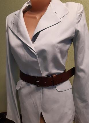 Пиджак  жакет блайзер мятного цвета