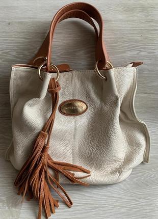#розвантажуюсь кожаная сумка smith&canova