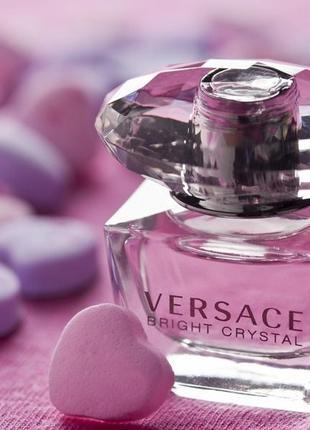Versace bright crystal_original eau de toilette 10 мл затест_туал.вода