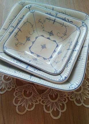 Порцеляновий елітний посуд villeroy&boch /рідкісна посуда/тарілки/тарелки