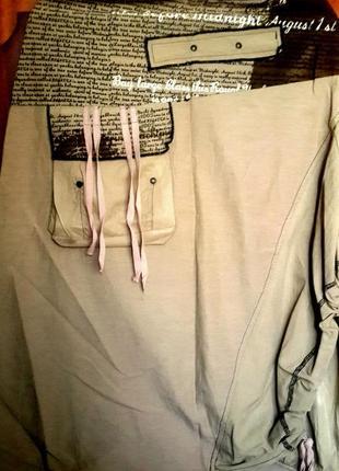 Стильная юбка с завязками