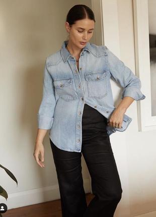 Базовая джинсовая рубашка #розвантажуюсь