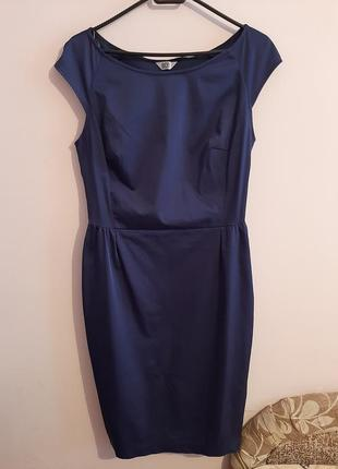 Платье красивое синее