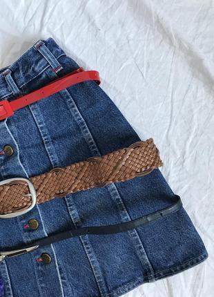 Ремни в ассортименте / красный ремень / чёрный ремень / широкий коричневый/бежевый ремень