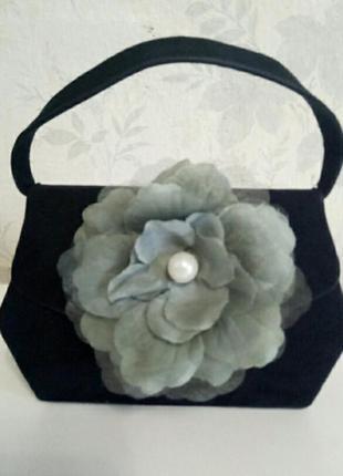 Шикарная дамская сумочка каркасная
