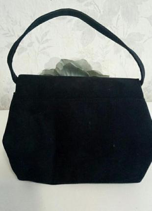 Шикарная дамская сумочка каркасная2 фото