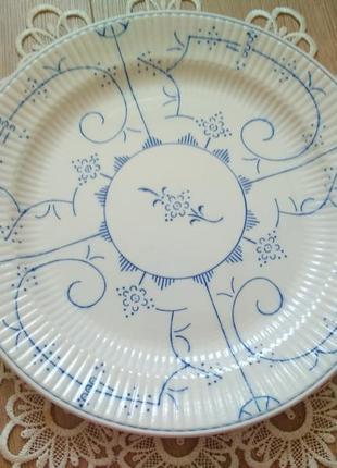 Фарфорова посуда villeroy & boch /велика тарілка/тарелка/фарфор/порцеляна