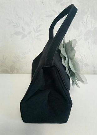 Шикарная дамская сумочка каркасная3 фото