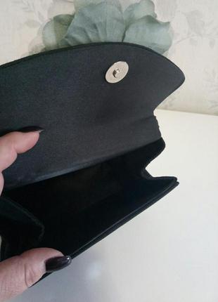 Шикарная дамская сумочка каркасная5 фото