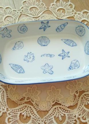 Фарфорова тарілка / тарелка