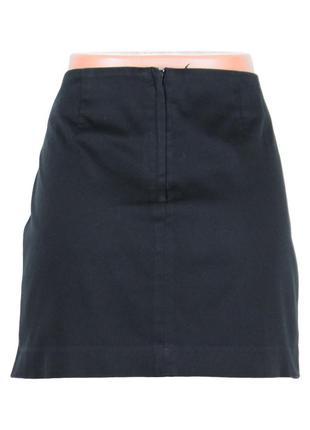 Короткая юбка прямого кроя