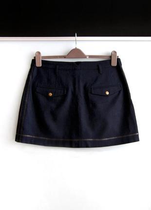 Теплая шерстяная юбка topshop7 фото