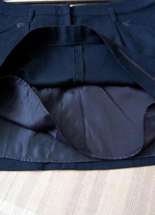 Теплая шерстяная юбка topshop3 фото