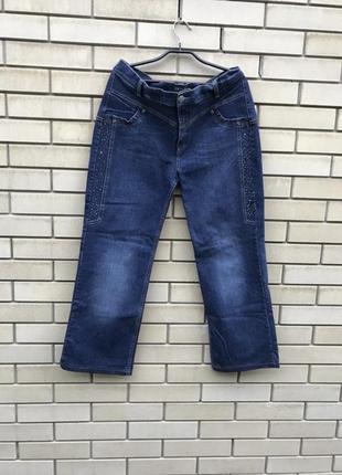 Плотные брюки джинсы