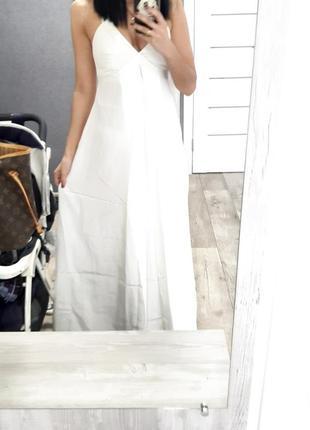 Свадебное выпускное вечернее платье в пол